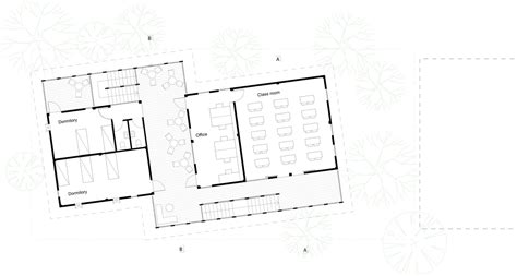 Youth Center Floor Plans by Kouk Khleang Youth Center Urbannext