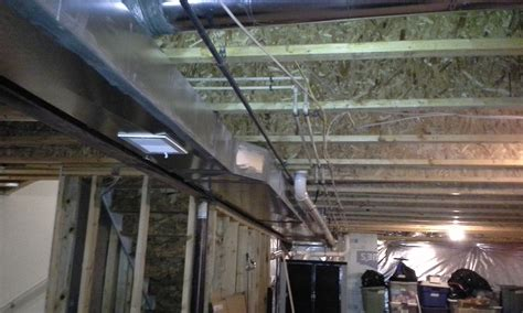 insulation how to build a wall duct work home