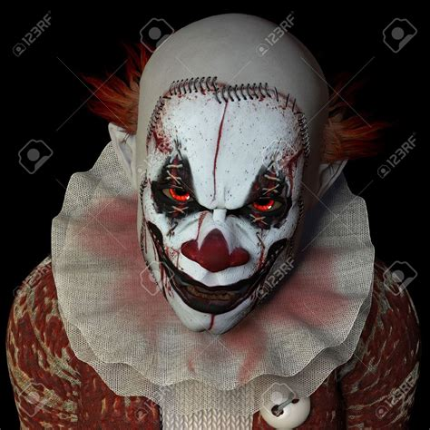 scary pictures there s actually a reason for finding clowns freaking creepy