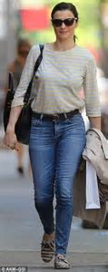 Fresh faced Rachel Weisz dresses down to run errands after