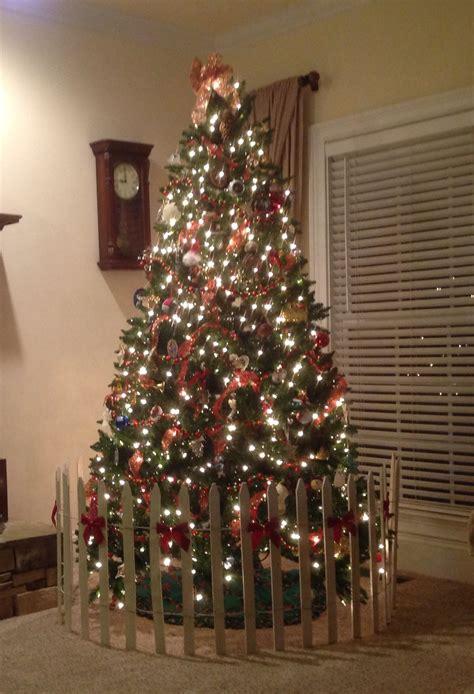 dog proof  christmas tree christmas tree fence christmas tree themes christmas