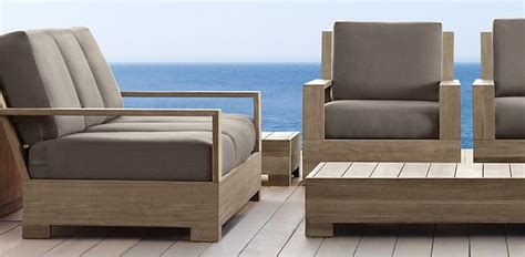 Belvedere Weathered Teak Restoration Hardware My Restoration Hardware Teak Outdoor Furniture