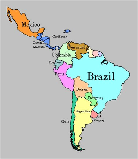 map of south america including mexico like me viewer s guide