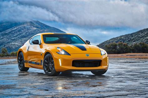 nissan z 2018 nissan 370z coupe heritage edition revealed the
