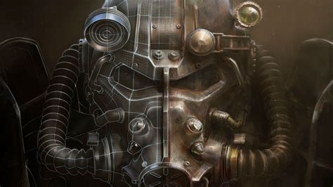 Military Wall Mural fallout 4 helmet artwork bethesda softworks video