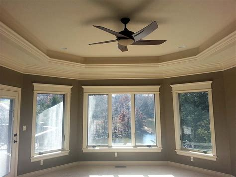 raised ceiling ceiling design custom homes by tompkins construction