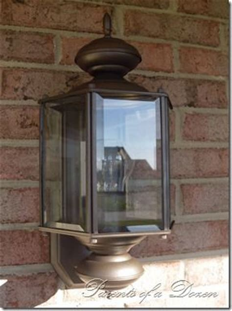 Painting Outdoor Light Fixtures Repainting Outdoor Light Fixtures House Ideas Pinterest Paintings Spray Painting And Lighting