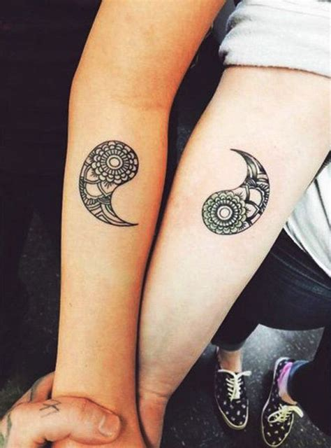 yin yang tattoos couples best 20 yin yang tattoos ideas on yin yang