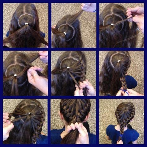 how to braid short hair step by step quirky braid hairstyle for girls step by step