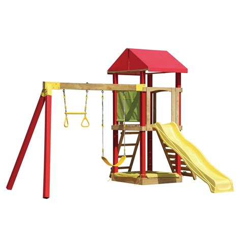 swing slide climb swing slide climb el dorado multi play playset bunnings