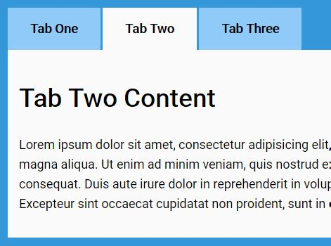 tab layout html css top 10 javascript css tabs components of 2017 css script