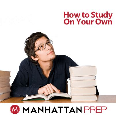 Can I Self Study Mba by How To Study For The Gmat On Your Own