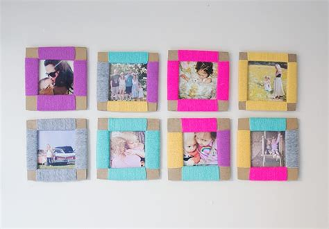 Box Telur Hello diy cardboard yarn photo frame