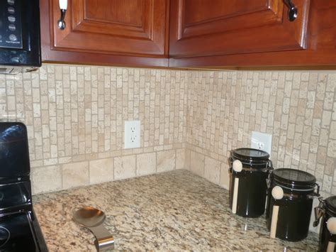 Kitchen Backsplash Ideas With Santa Cecilia Granite by Lt Travertine With St Cecilia Granite Backsplash Ideas