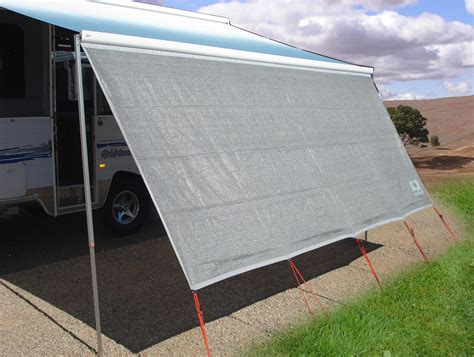 How To Install Rv Awning Fabric Caravansplus Coast Sun Screen 3 85m Suit 4m Box Awning