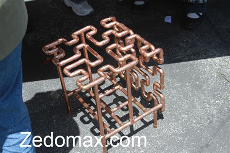 copper pipe furniture home improvement diy how to make a computer table with