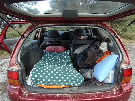 how to sleep in your car comfortably outstanding places to sleep lotte harmsen s blog