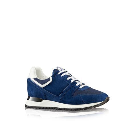 louis vuitton sneakers for louis vuitton run away sneaker in blue lyst