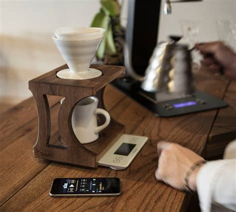 The Best Wooden Pour Over Stands from Etsy   Coffee Gear at Home