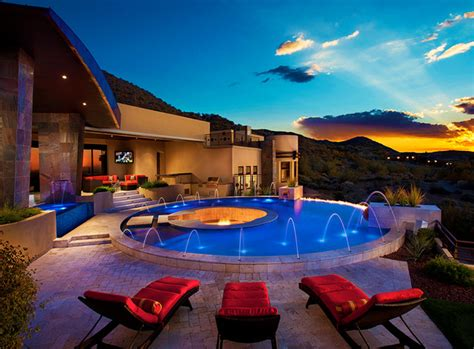 amazing backyards amazing backyards contemporary pool phoenix by mossman brothers pools