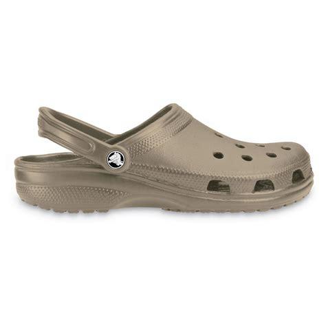 Crocs Slip On Original crocs classic shoe khaki original crocs slip on shoe