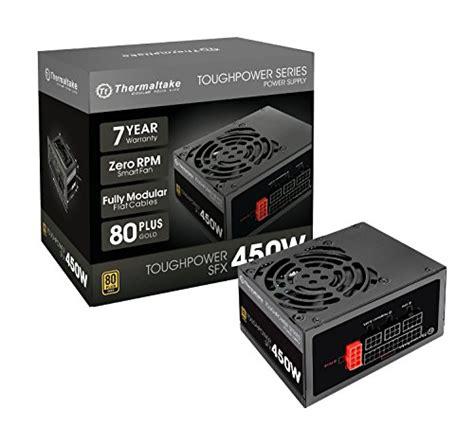 Thermaltake Toughpower Sfx Modular 450w 80gold Mini thermaltake toughpower sfx 450w 80 gold fully modular sfx