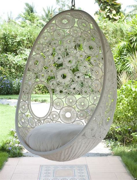 swinging pod chair zara hanging pod chair hang this stunning chair from your