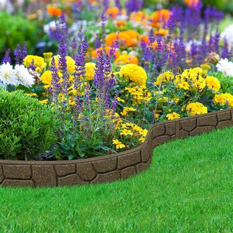 recycled rubber edging border 12m on sale fast
