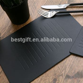 custom printed table mats high quality printed table mat leather placemat buy