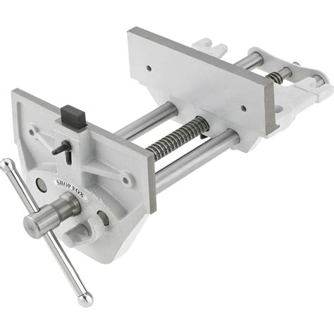 clamps vises shop fox   quick release wood vise