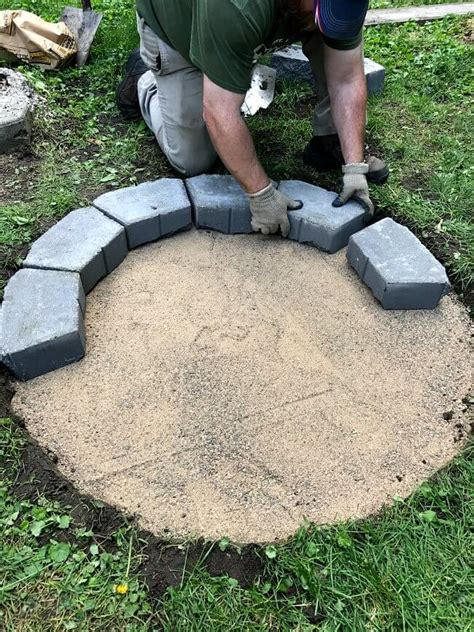 diy steel pit ring diy metal ring pit diy do it your self