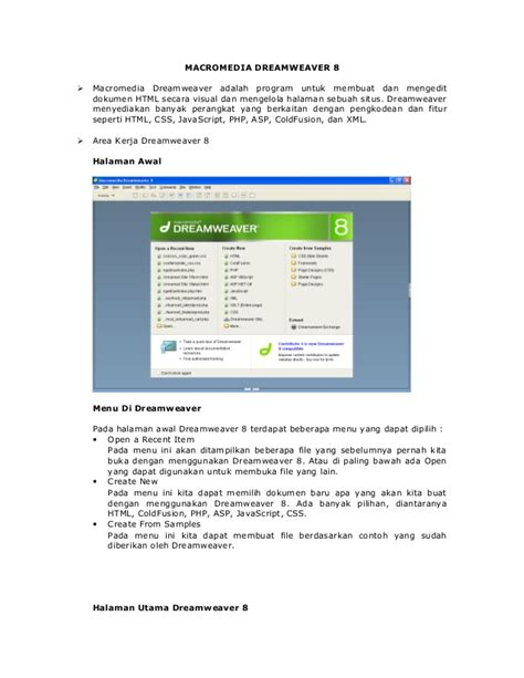 dreamweaver tutorial in pdf tutorial de dreamweaver 8 pdf skylime