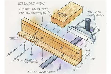 woodworking indicator box joint jig