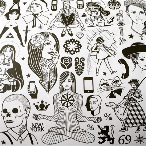 tattoo flash zine limited edition mike giant tattoo flash zine is only