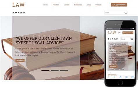 Law Firm Responsive Website Template Beautiful Template Design Ideas Firm Responsive Website Template