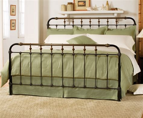 Iron King Size Bed Frame Boston Bed Charles P Rogers Beds Iron King Bed Frame