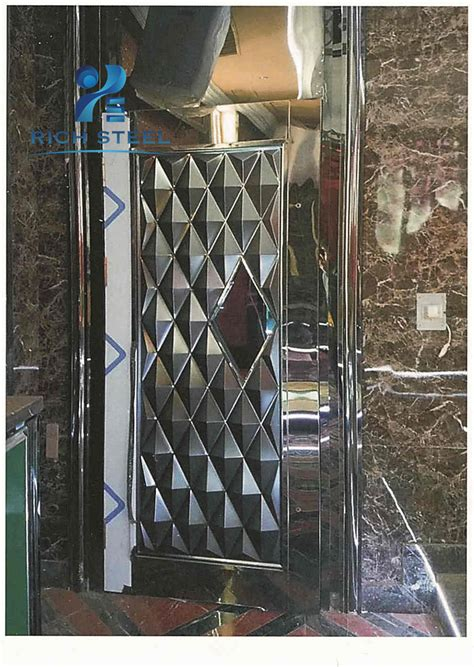 stainless steel main entrance gate front door designs