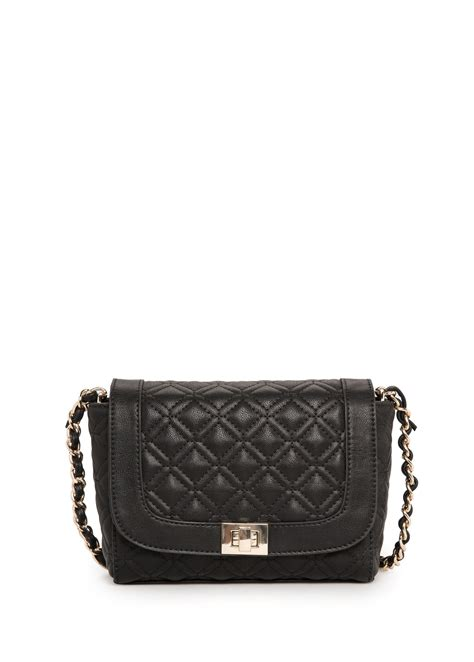 Quilted Cross Bag by Mango Quilted Cross Bag In Black Lyst
