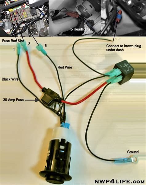 headlight wiring diagram honda civic wiring diagram