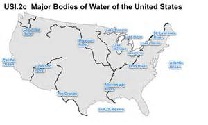 United States Major River Systems Map by Map Of Us Rivers And Great Lakes Coalition Of National