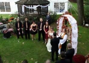 Small Backyard Wedding Ceremony Ideas Confidential Marriages And Simple Wedding Ceremony Ideas