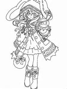 live coloring date a live kurumi tokisaki sketch coloring page
