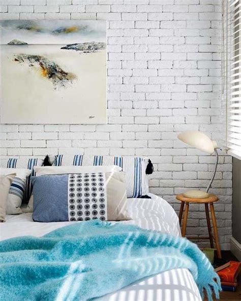 Brick Wall Bedroom Design 33 Modern Interior Design Ideas Emphasizing White Brick Walls