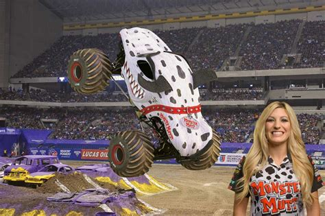 monster truck jam vancouver first female canadian monster truck driver has need for speed