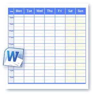 Schedule template click to download school schedule calendar no