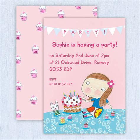 invitation design uk personalised childrens birthday invitations uk