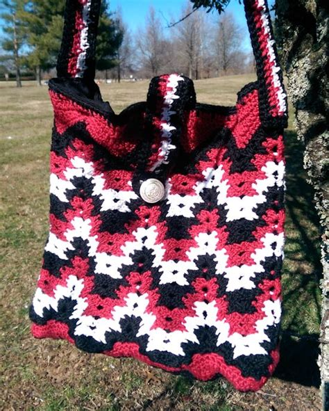 crochet ripple bag pattern 365 crochet