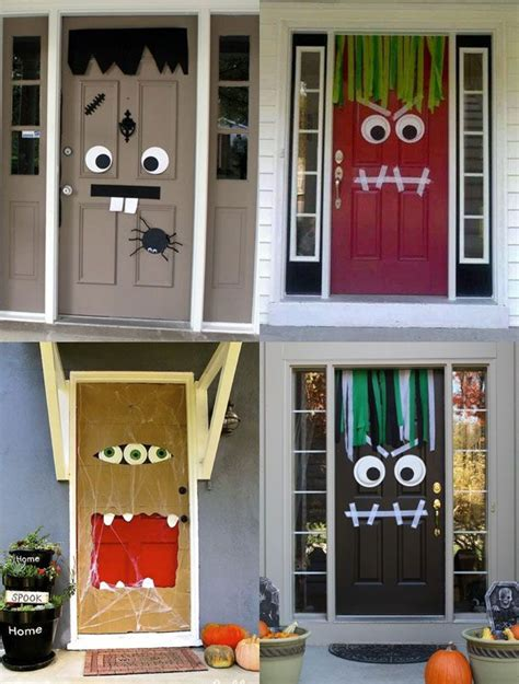 home door decoration 8 halloween diy decorating ideas for your home and yard