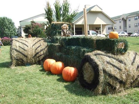fall hay bale decorating ideas pin by on cool things