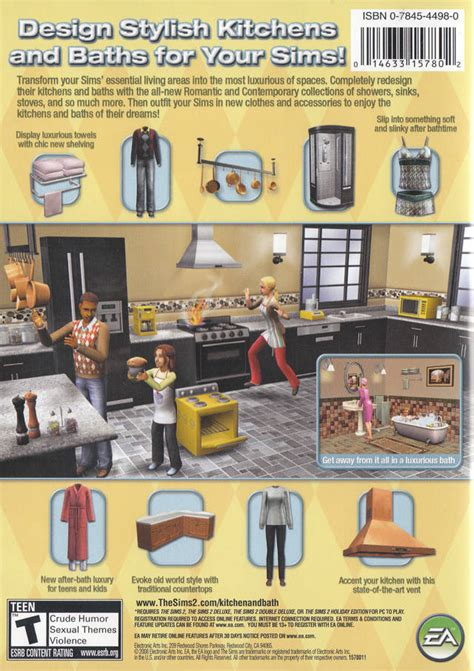 interior stuff the sims 2 kitchen bath interior design stuff box shot for pc gamefaqs